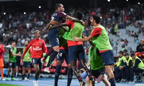 Bom tấn Alves tỏa sáng, PSG ngược dòng đánh bại Monaco giành Siêu cúp Pháp