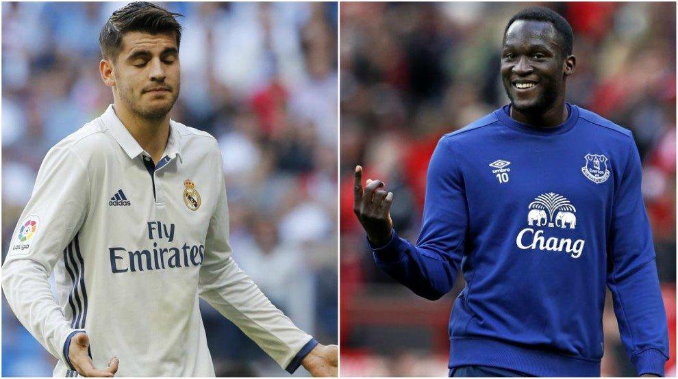 Phản ứng bất ngờ của Real trước thông tin MU bỏ Morata mua Lukaku