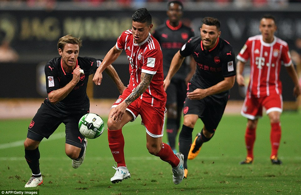 VIDEO: Bayern Munich 1-1 Arsenal (Pen 2-3, ICC 2017)