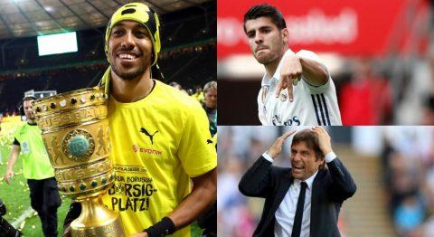 Huyền thoại Chelsea khuyên đội bóng cũ chốt Aubameyang thay vì Morata