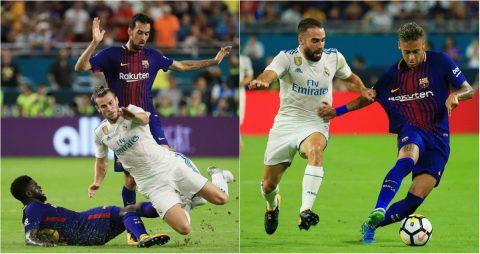 CHÙM ẢNH: Song sát Messi-Neymar chói sáng, Bale sắm vai 'mất tích', Barca hạ Real để vô địch ICC