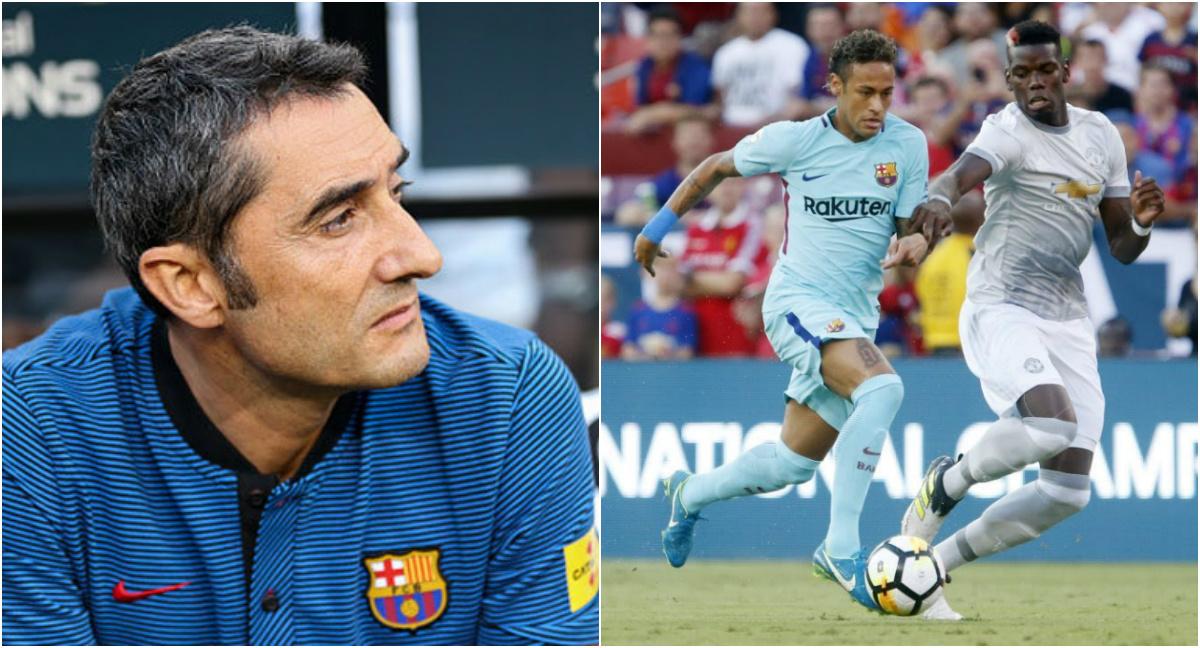 """HLV Barca """"sợ"""" gặp lại M.U tại Champions League; khẳng định tương lai Neymar"""