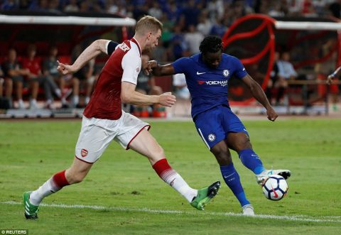 VIDEO: Arsenal 0-3 Chelsea (Giao hữu Hè 2017)