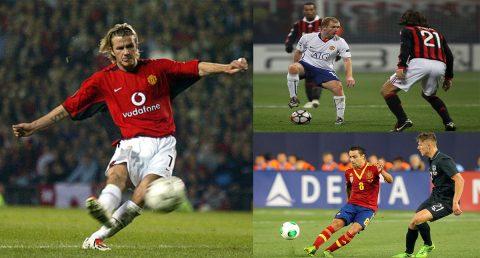 Top 10 cầu thủ chuyền bóng dài chuẩn xác đến từng centimet của làng bóng đá thế giới