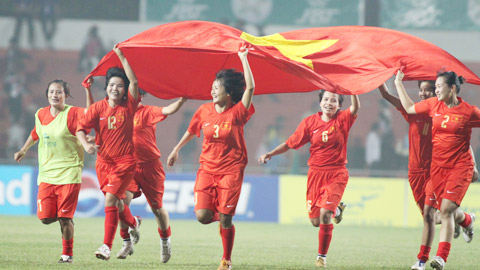 Nhìn lại bóng đá nữ Việt Nam qua các kỳ SEA Games