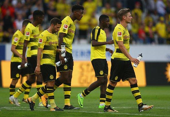 CHÙM ẢNH: Dortmund thua sốc trước CLB hạng tư trong trận ra mắt của tân HLV