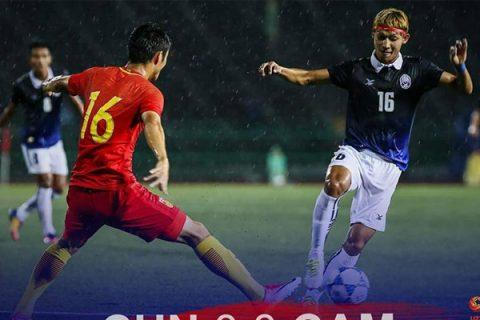 U22 Lào lội ngược dòng kịch tính trước Đài Loan, Campuchia làm nên cơn địa chấn khi cầm hòa Trung Quốc