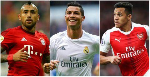 Ronaldo và những ngôi sao vắng mặt trong chuyến du đấu Hè 2017