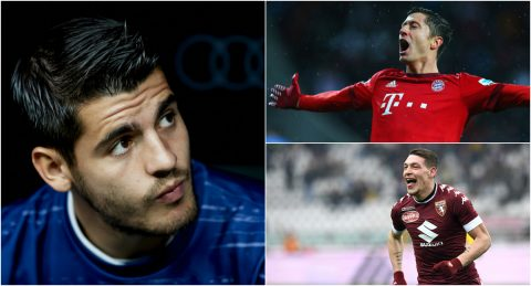 """10 cái tên Chelsea nên nhắm đến sau khi """"vồ hụt"""" Lukaku"""