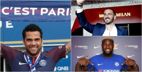 8 thương vụ đáng chú ý nhất của bóng đá thế giới hoàn thành trong thời gian qua