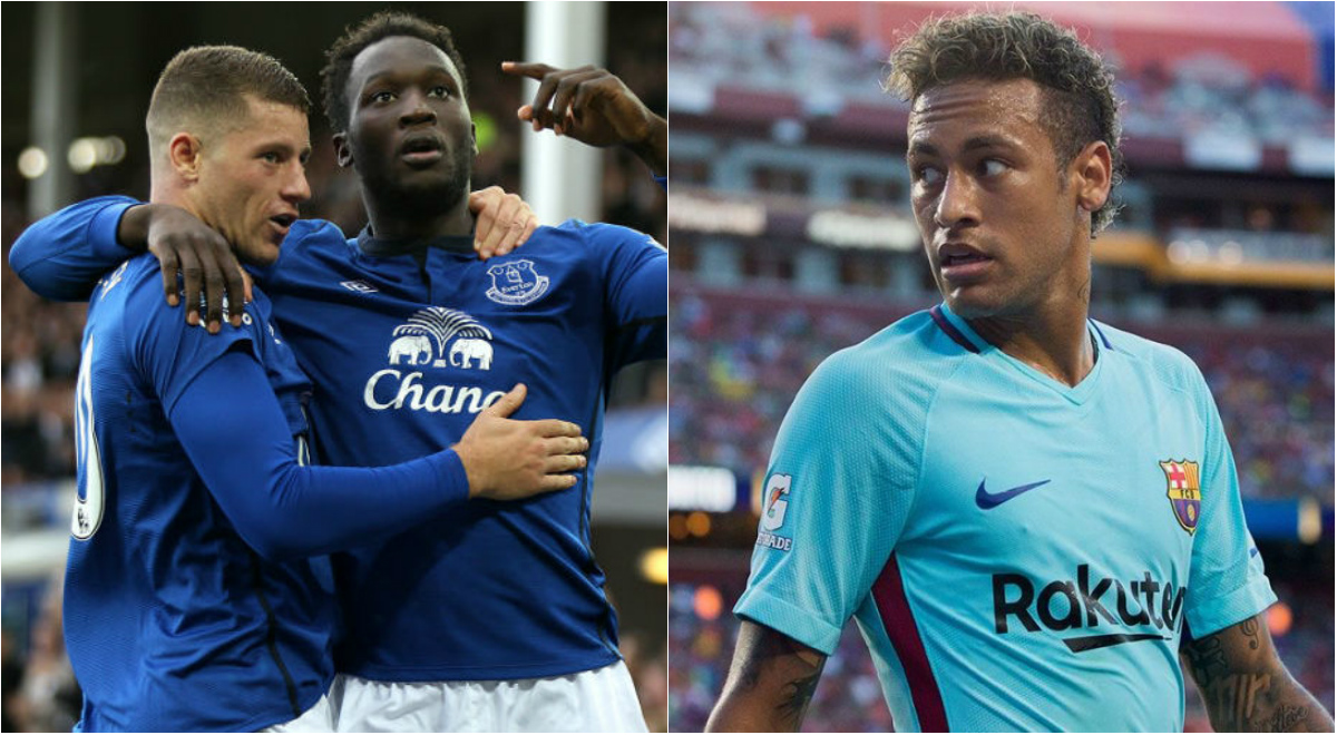 TIN CHUYỂN NHƯỢNG 28/7: MU chiêu mộ sao bự Everton đá cặp với Lukaku; PSG chốt xong hợp đồng với Neymar