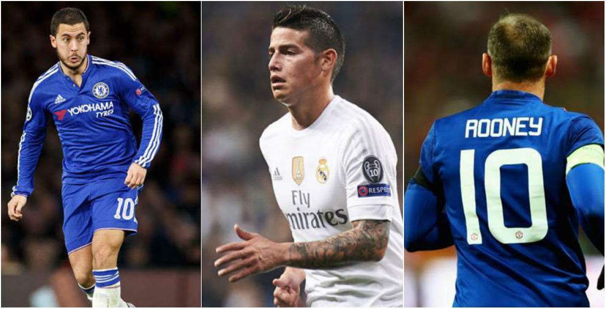 TIN CHUYỂN NHƯỢNG 07/07: Chelsea tính chơi sốc với Real; Hé lộ số áo của Rooney khi về lại Everton
