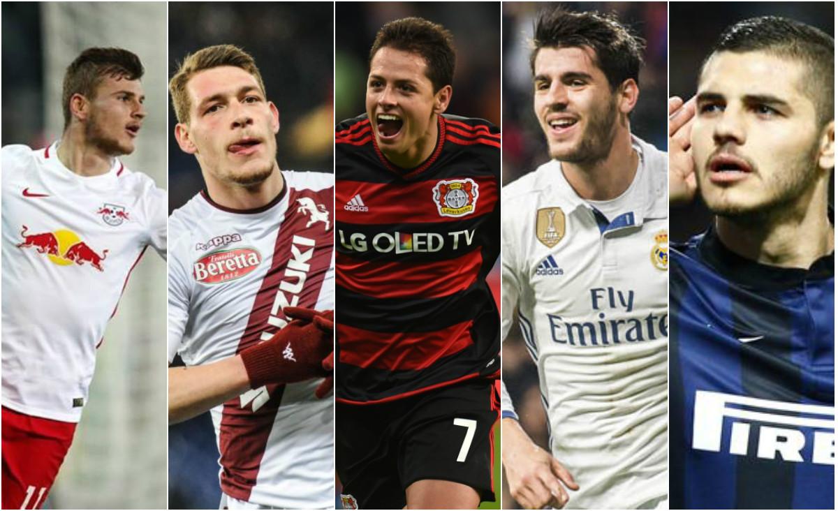 """5 """"sát thủ"""" chất lượng giúp Chelsea quên đi Lukaku"""