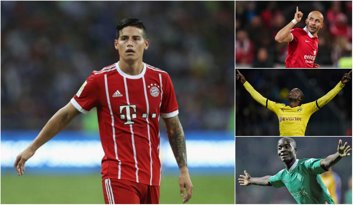 James Rodriguez và số phận của những tiền bối người Colombia tại Bundesliga