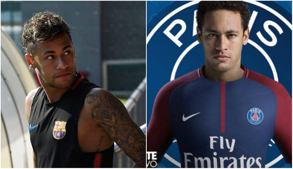 Mặc kệ tin đồn sang PSG, Neymar vẫn du đấu cùng Barcelona