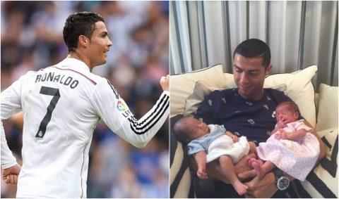 """Ronaldo đặt mục tiêu cực dị """"số con đúng bằng số áo"""""""