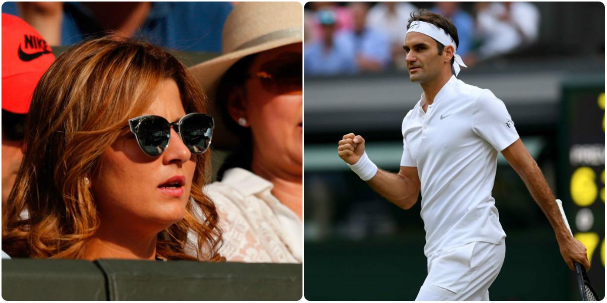 CHÙM ẢNH: Người nhà hậu thuẫn, Federer dễ dàng lọt vào vòng 3 Wimbledon