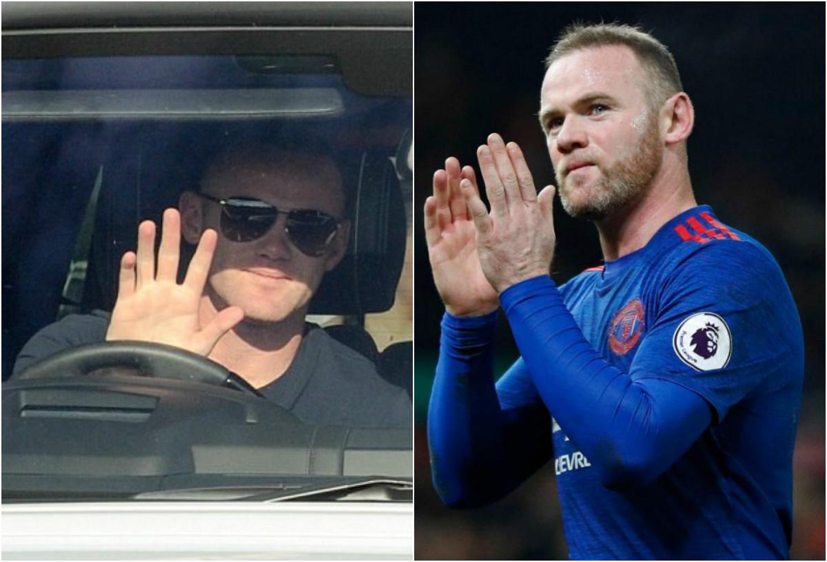 CHÙM ẢNH: Kìm nén nỗi buồn, Rooney gắng cười trong buổi kiểm tra y tế tại Everon