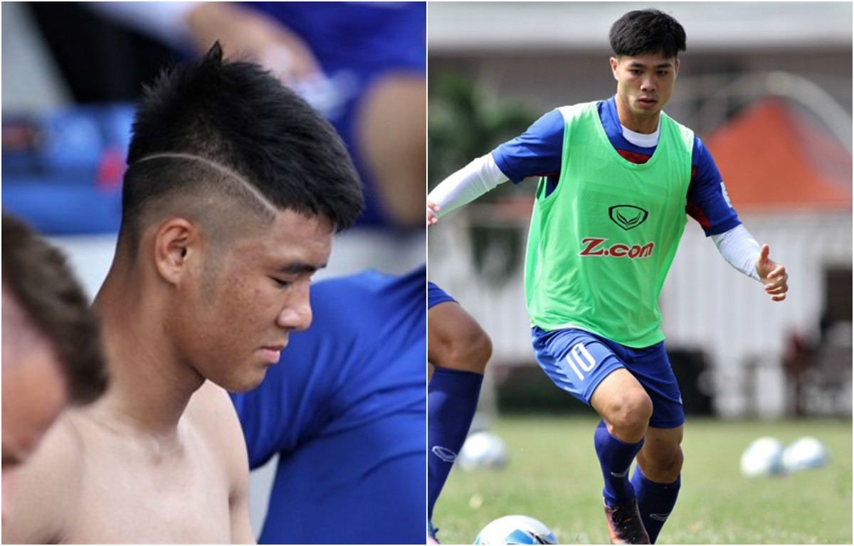 """Những quả đầu """"cực chất"""" của các tuyển thủ U22 Việt Nam ở Vòng loại U23 châu Á"""