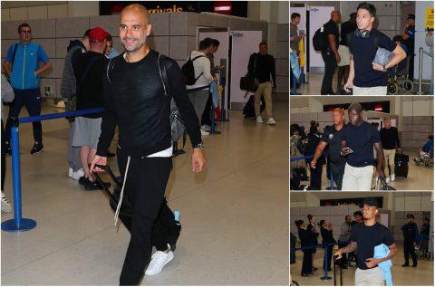 CHÙM ẢNH: Thầy trò Guardiola gây chú ý với đồng phục thời thượng