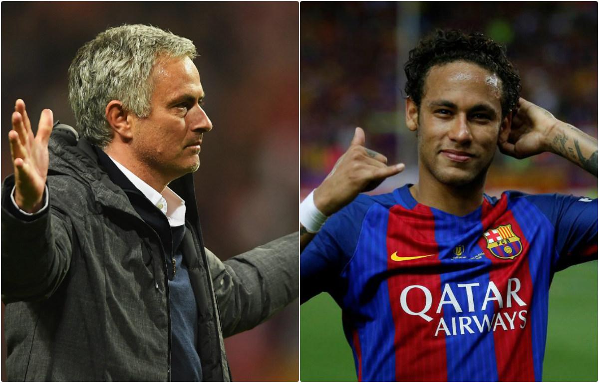 Mourinho muốn M.U đưa Neymar về Old Trafford với giá không tưởng
