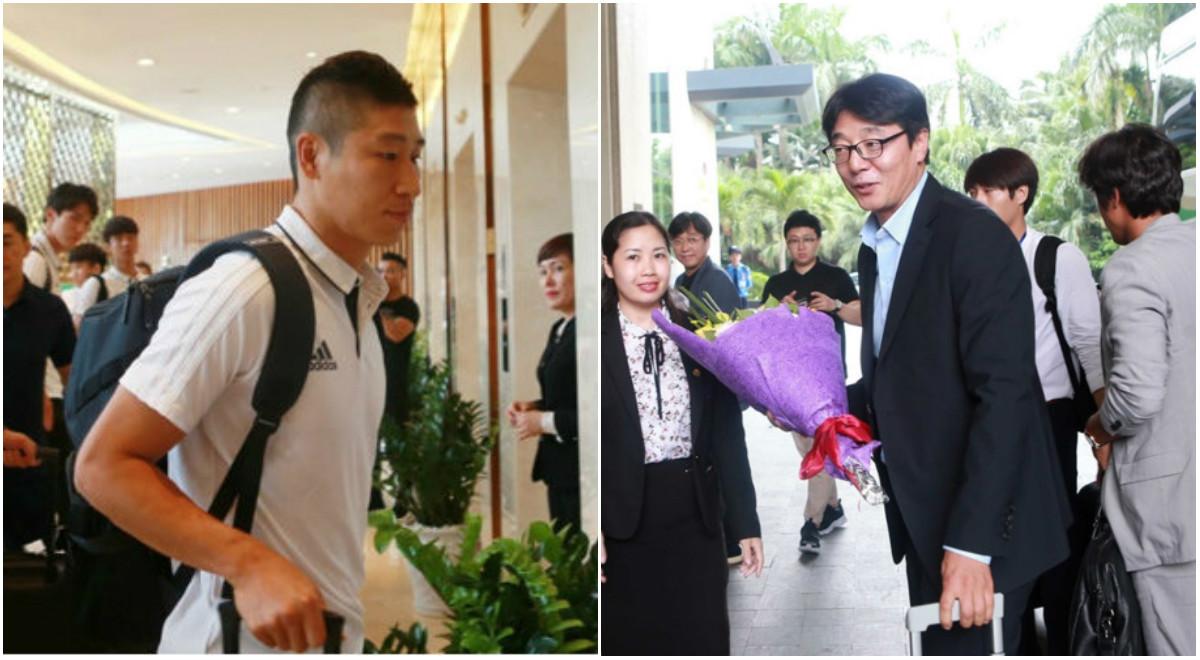 CHÙM ẢNH: Dàn sao K-League đổ bộ Mỹ Đình, chuẩn bị quyết đấu U22 Việt Nam