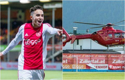 NÓNG: Sao Ajax bị đột quỵ trên sân tập