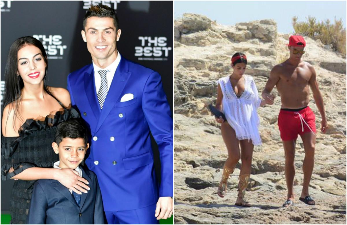 Ronaldo sắp làm bố lần thứ 4 với cô bạn gái Georgina Rodriguez