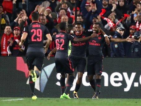 Lacazette nổ súng, Arsenal có chiến thắng đầu tiên trên đất Úc