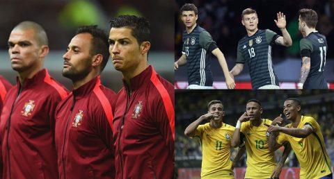 Đội hình cực khủng của 10 ứng cử viên nặng ký cho chức vô địch World Cup 2018 trên đất Nga