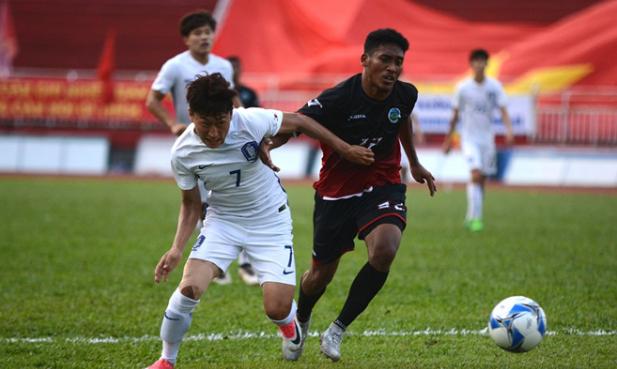 Chiến đấu quả cảm, U22 Đông Timor gây nên cơn địa chấn trước U22 Hàn Quốc