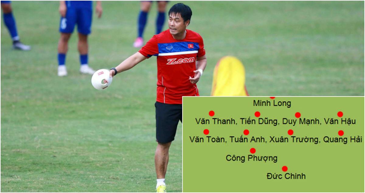Lộ diện đội hình chính của U22 Việt Nam tại Vòng loại U23 châu Á
