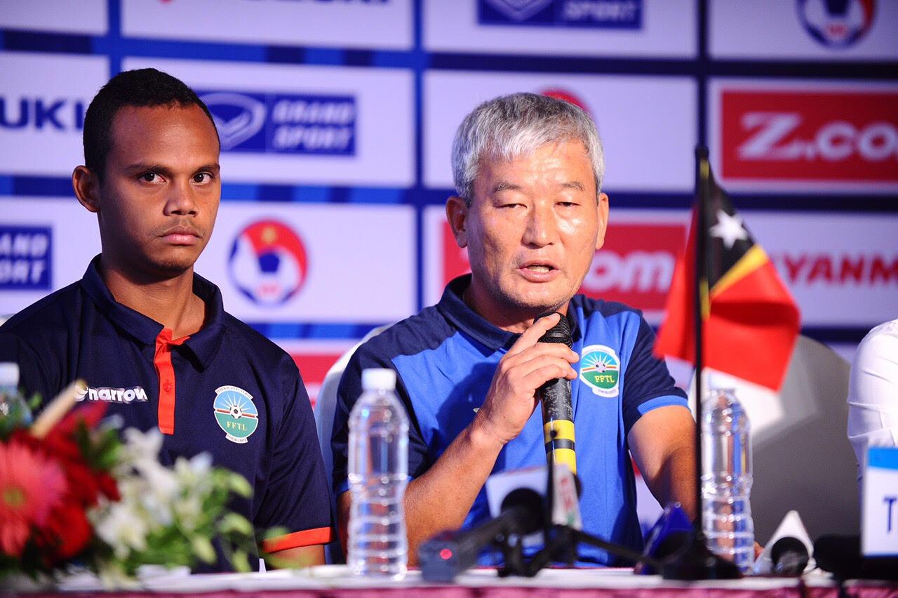 """Tạo địa chấn trước Hàn Quốc, HLV U22 Đông Timor lớn tiếng """"thách thức"""" U22 Việt Nam"""