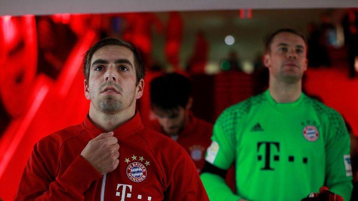 Xác định người thay thế Philipp Lahm làm đội trưởng mới ở Bayern