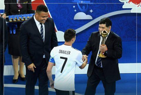 ĐT Đức nhận thêm 2 danh hiệu cá nhân tại Confederations Cup