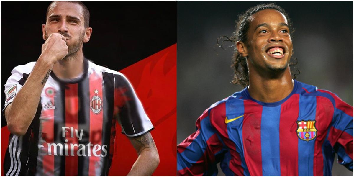 """Điểm tin tối 27/07: Bonucci vẫn chưa chính thức là người của Milan; """"Tôi tới Barca vì Ronaldinho"""""""