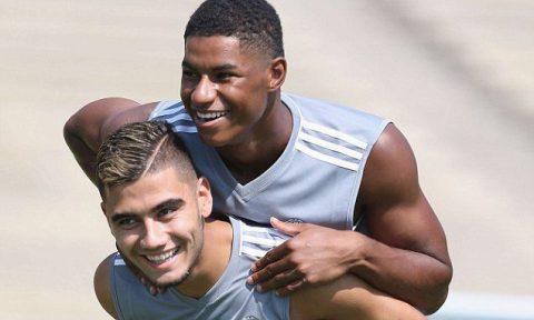 Sao trẻ Man United tự tin cạnh tranh suất đá chính mùa 2017/18