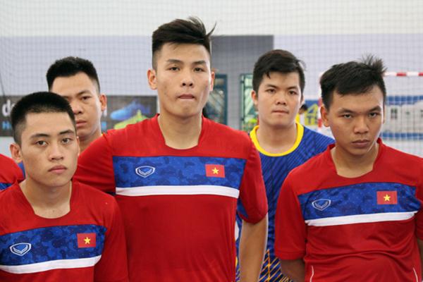 ĐT futsal Việt Nam sang Thái Lan tập huấn trước thềm SEA Games 29