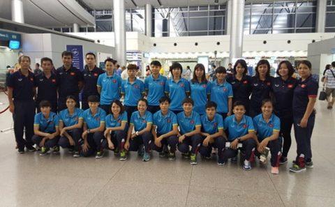 ĐT Futsal nữ Việt Nam chính thức lên đường sang Nhật Bản, tập huấn trước SEA Games 29