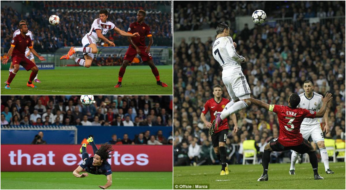 TOP 10 tiền đạo không chiến đỉnh nhất châu Âu 5 năm qua: Ronaldo vô đối