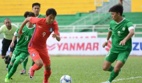 U22 Hàn Quốc nghiền nát Macau với tỉ số không tưởng trong trận mở màn