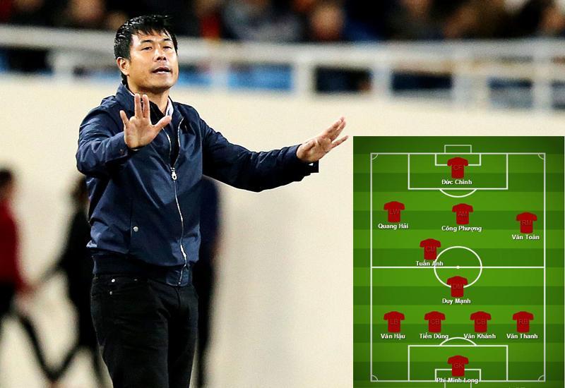 Đâu sẽ là đội hình tối ưu của Việt Nam tại vòng loại U23 châu Á 2018?