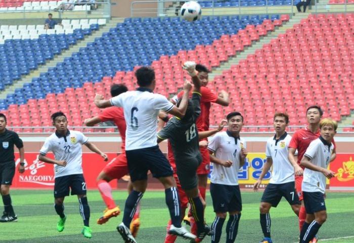 U22 Lào tiếp tục tạo nên cú sốc lớn ở vòng loại U23 châu Á