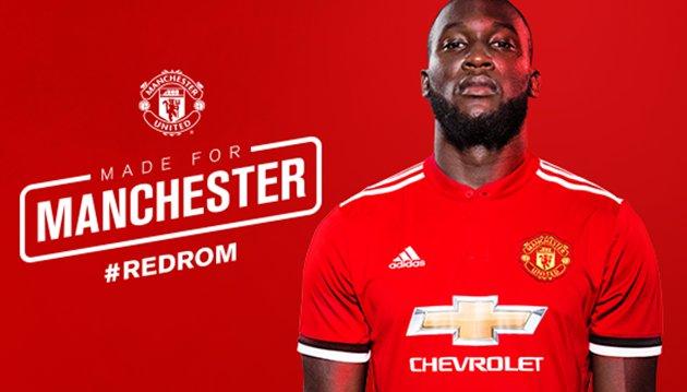 CHÍNH THỨC: Lukaku gia nhập Man Utd, kế thừa áo số 9 của Ibra