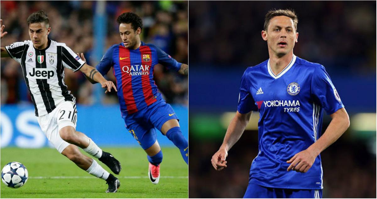 TIN CHUYỂN NHƯỢNG 22/07: Barca mua Dybala thay Neymar; Chelsea chốt giá bán Matic cho M.U