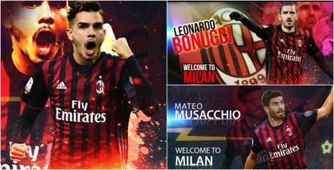 Bonucci dẫn đầu đội hình cực khủng của AC Milan mùa giải tới