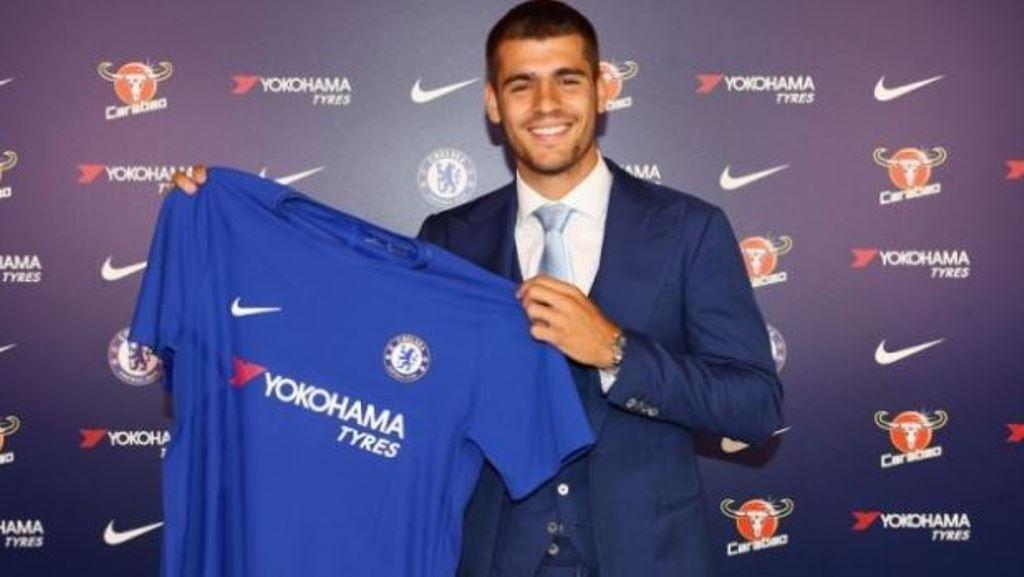 Chelsea công bố số áo của 4 tân binh: Morata có phá giải được lời nguyền?