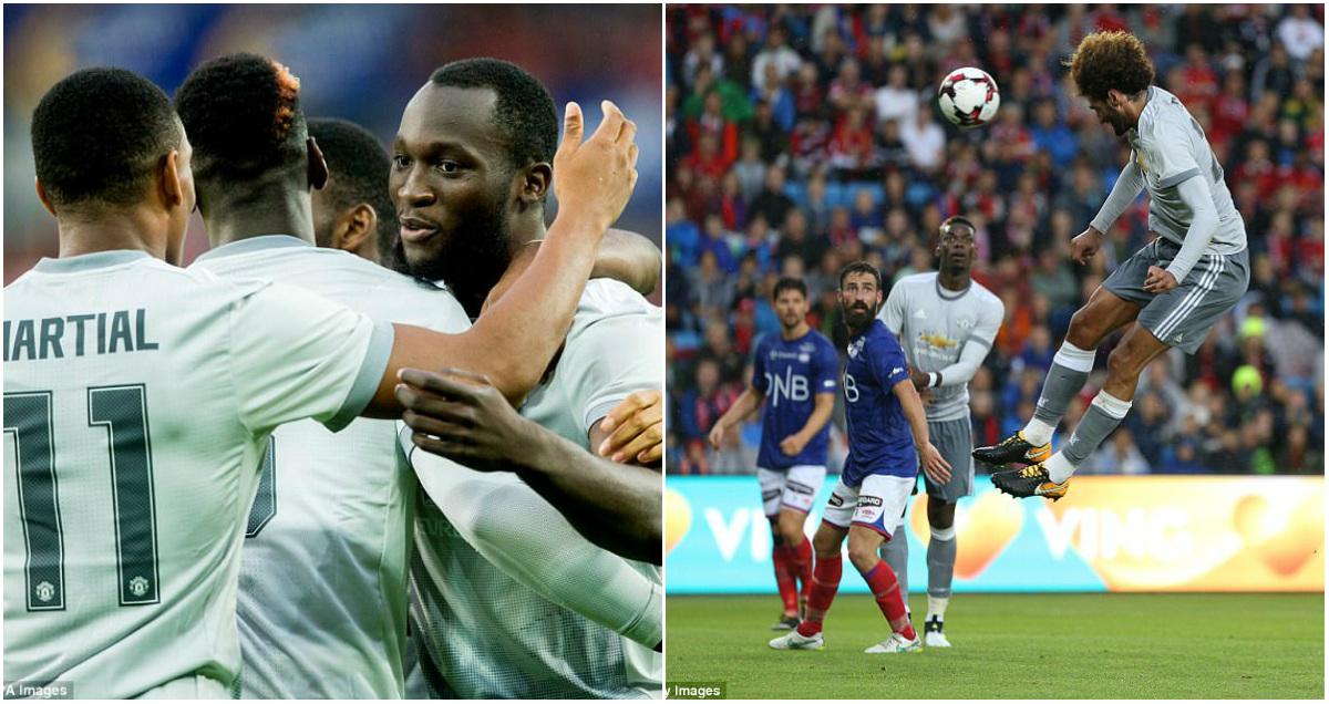 Fellaini – Lukaku đồng loạt nổ súng, Man United thắng tưng bừng trên đất Na Uy