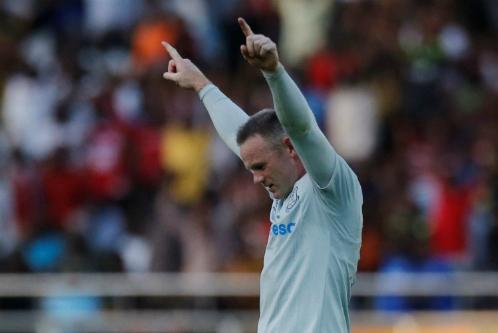 Wayne Rooney lập siêu phẩm trong trận ra mắt Everton