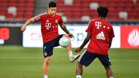 """James Rodriguez: """"Bayern Munich còn vĩ đại hơn Real Madrid"""""""